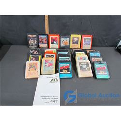 Collection of 8 Track Tapes