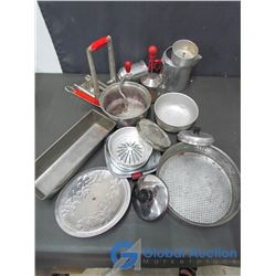 Assorted Kitchen Supplies, Cooking & Bakeware