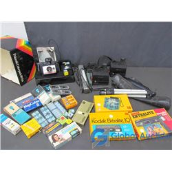 Assorted Cameras, & Accessories