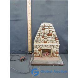 Decorative Light up Fire Place (Working)