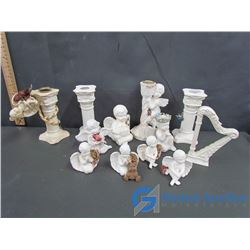 Cherubs Angels Candle Holders & Decor