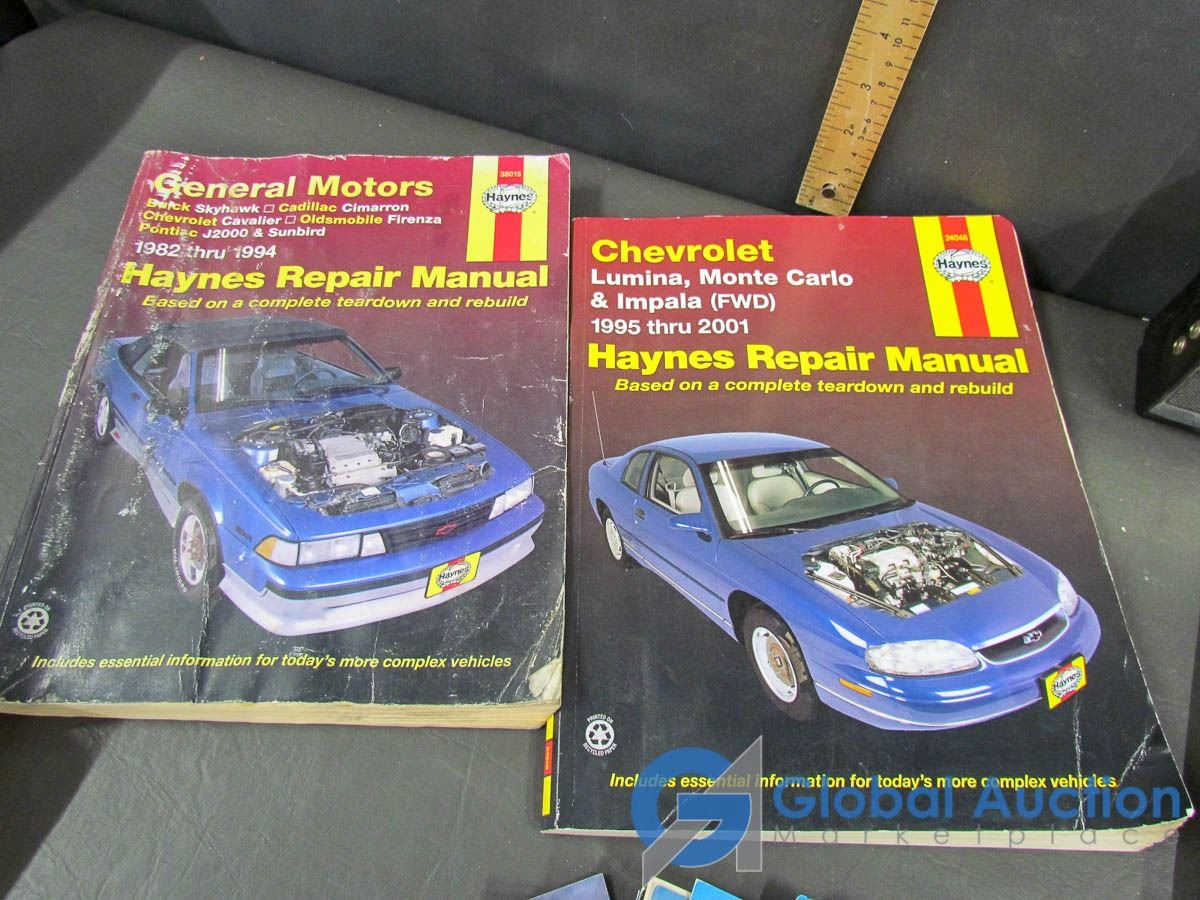 Postal Cards, Haynes Repair Manuals, Books &High Tensitivity Radio