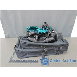 (2) Luggage Bags & (2) Garment/Suit Bags