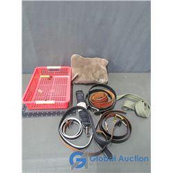 Lug Nap Sac Blanket in Bag, Assorted Belts, & Bag Strap