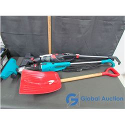 (2) Brissell Corded Vaccums, & Kids Shovel