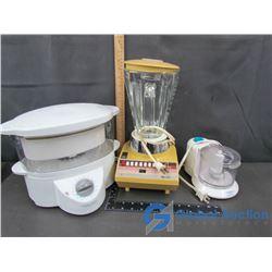 Black & Decker Steamer, Philips Blender, & Black & Decker Home Essentials Mini Food Processor