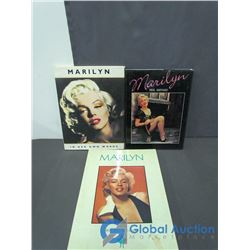 (3) Marilyn Monroe Books