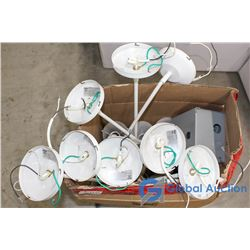 Box of Ceiling Lights (8)
