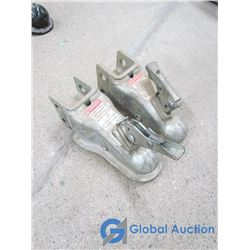 "(2) 2"" Trailer Ball Couplers"