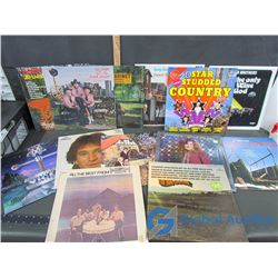 Assorted LP Records