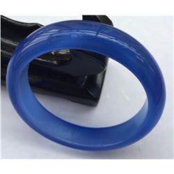 Natural Blue Jade Bracelet
