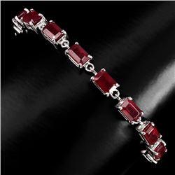 Genuine Top Blood Red Ruby Bracelet