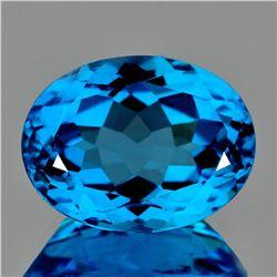 Natural AAA Swiss Blue Topaz 23.50 Ct - FL
