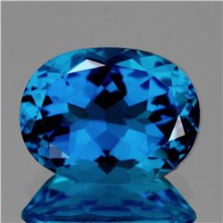 Natural Magnificent Swiss Blue Topaz 31.94 Ct -Flawless