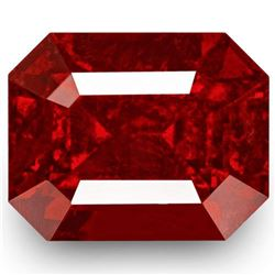 Natural  Pigeon Blood Red Mahrnge Spinel