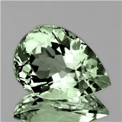 NATURAL GREEN AMETHYST 13x9 MM - FL
