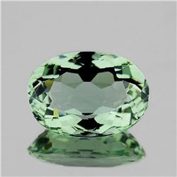 NATURAL GREEN AMETHYST 13x9.5 MM - FL