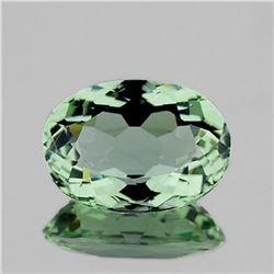 NATURAL GREEN AMETHYST 13x9.5 MM - FL