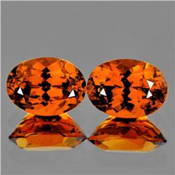 Natural Mandarin Orange Spessartite Garnet 7x5 MM - VVS