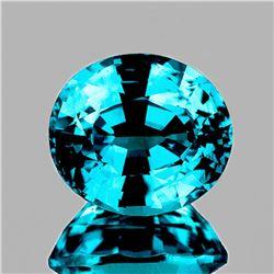Natural Top Electric Blue Zircon 2.65 Ct  - VVS