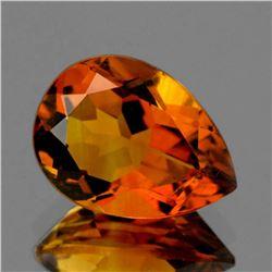 Natural Madeira Golden Orange Citrine 10x7 MM