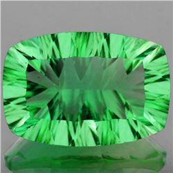 Natural ConCave Cut AAA Paraiba Green Fluorite 25x17 MM