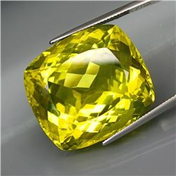 Natural JUMBO Lemon Yellow Quartz 80.83 Ct - VVS