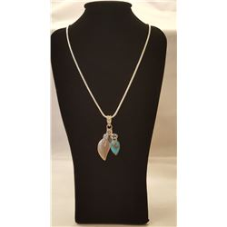 STUNNING NATURAL ARIZONA BLUE TURQUOISE PENDANT