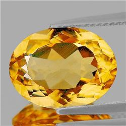 NATURAL BRIGHT GOLDEN YELLOW CITRINE 20x15 MM - FL
