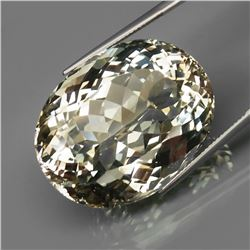 Natural UNTREATED Light Champagne Topaz 109.67 Ct