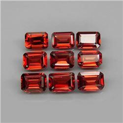 Natural Red Mozambique Garnet 7x5 MM
