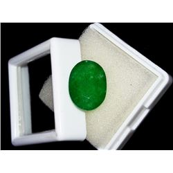 Natural Oval Zambian Emerald 6.69 Ct