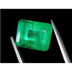 Natural Forest Green Zambian Emerald 7.10 Ct