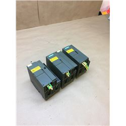 (3) Siemens Communication Modules *See Pics for Part Numbers*