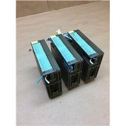 (3) Siemens 1P 6ES7 322-1BH01-0AA0 Output Modules