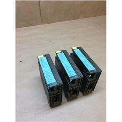 (3) Siemens 1P 6ES7 321-1BH02-0AA0 Digital Input Modules