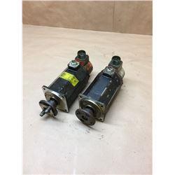 (2) Fanuc A06B-0312-B002 AC Servo Motors
