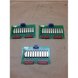 (3) Mori Seiki Circuit Boards *See Pics for Part Numbers*