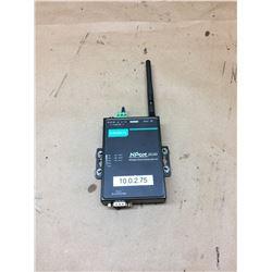 MOXA NPort W2150A Wireless Serial Device Server w/ Antenna