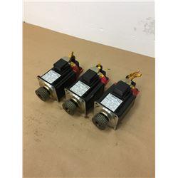 (3) Fanuc A06B-0376-B575#7075 AC Servo Motors