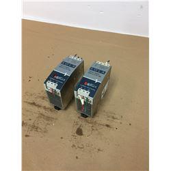 (2) SOLA SDN 10-24-100P Power Supplies