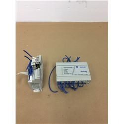 (2) Allen- Bradley MicroLogix Modules *See Pics for Part Numbers*