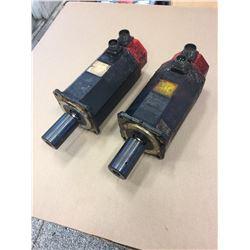 (2) Fanuc A06B-0314-B074 AC Servo Motors