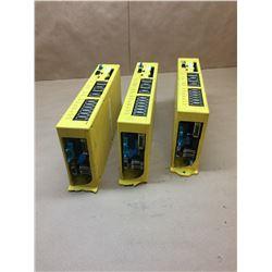 (3) Fanuc A02B-0166-B581 Power Mate-Model D