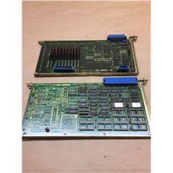 (2) Fanuc A16B-1210-0381 Circuit Boards