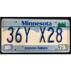 Fargo (2014– ) - Season 1 License Plate - Lot B