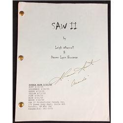 Saw II (2005) - Shawnee Smith (Amanda) Signed Script