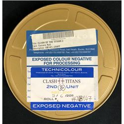 Wrath of the Titans (2012) - Film Reel Can With Label