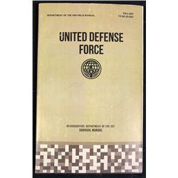 Edge of Tomorrow (2014) - UDF Survival Manual Booklet