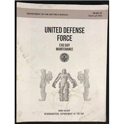 Edge of Tomorrow (2014) - UDF Exo-Suit Maintenance Booklet